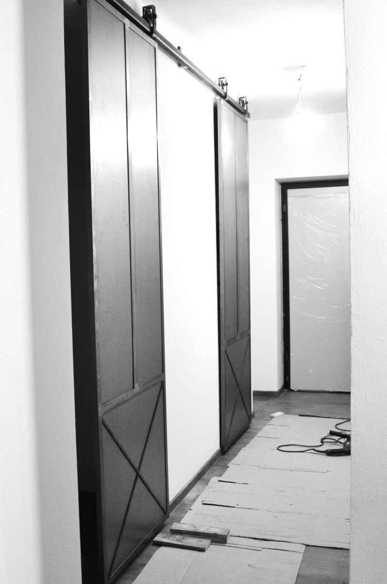 Porte Scorrevoli Stile Industriale stile industrial : porte scorrevoli in ferro – riciclo design