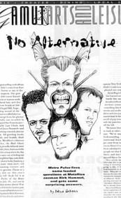 Metallica illustration by Rick Baldwin