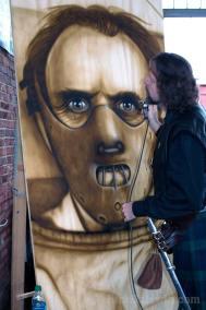 Hannibal mural painting
