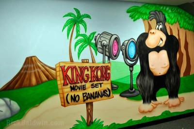 King Kong mural