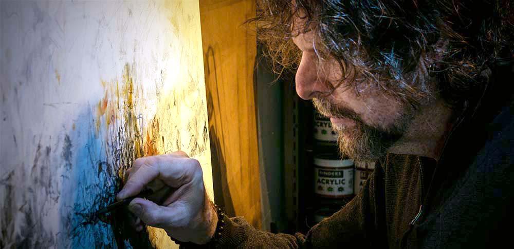 Rick Baldwin Painting