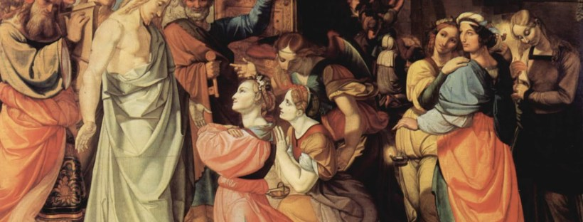 """The Wise and Foolish Virgins"" by Peter von Cornelius"