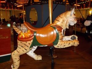 Adirondack Carousel Bobcat