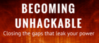Igniting Souls Conference - Becoming Unhackable