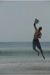 Daniel Coplin Frisbee