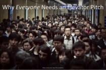 Elevator Pitch Essentials