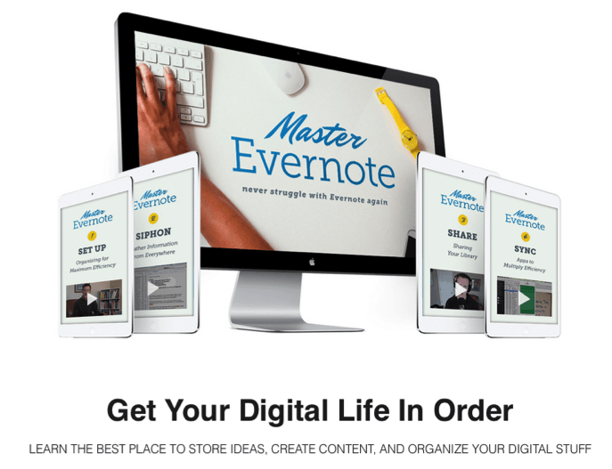 Andy Traub's Master Evernote Online Course