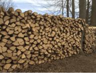 Split Wood Stack