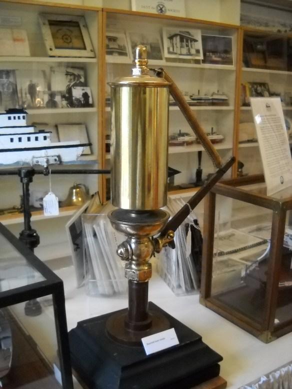 Nautical stuff in the museum