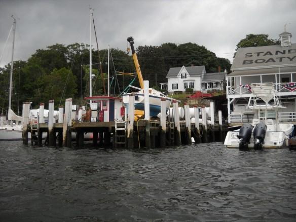 Fuel Dock, Standish Boat Yard, Tiverton, RI