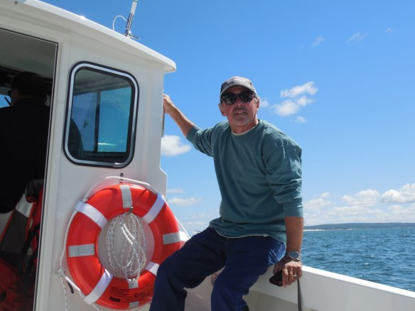 Your humble blogger aboard Independence.