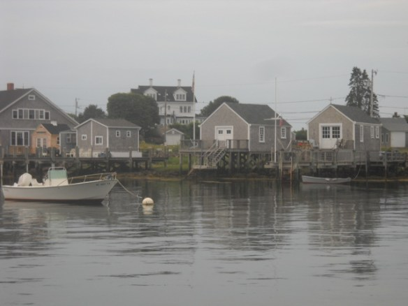 Little cottages along the channel