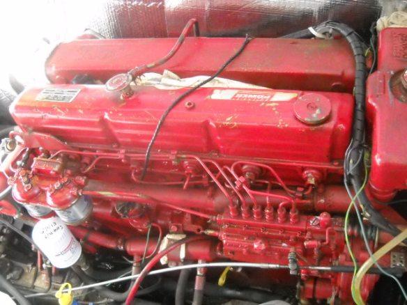 Lehman 120 diesel engine.