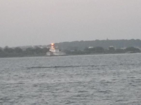 Rose Island Lighthouse.
