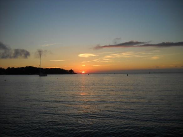 Quisset sunset.