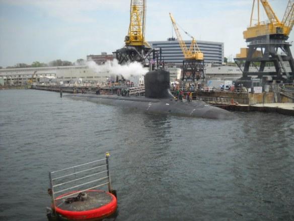 The E.B. docks.