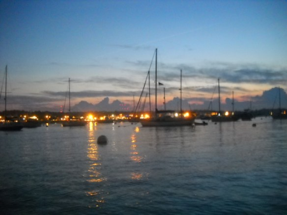 Dusk In Plymouth