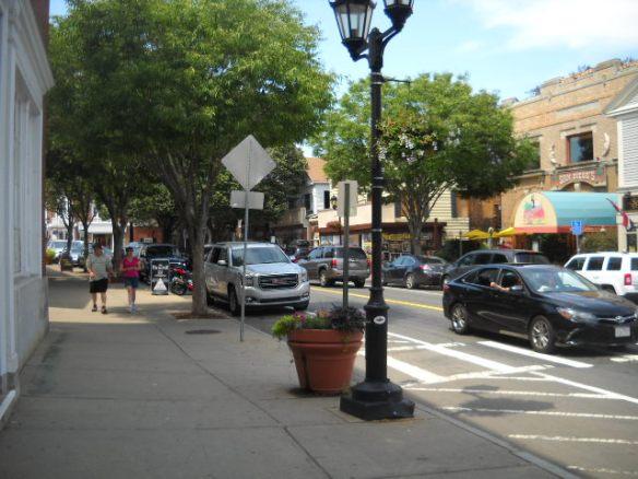 Downtown scene.