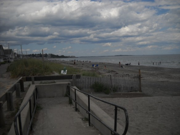 Nantasket Beach looking north.