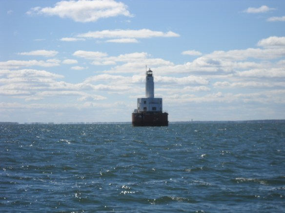 The Cleaveland Ledge East Light.