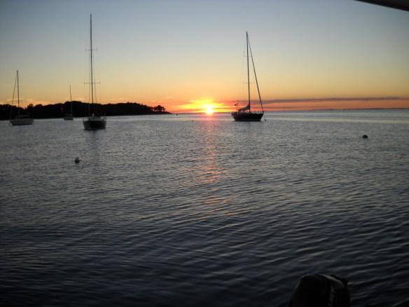 Quissett sunset