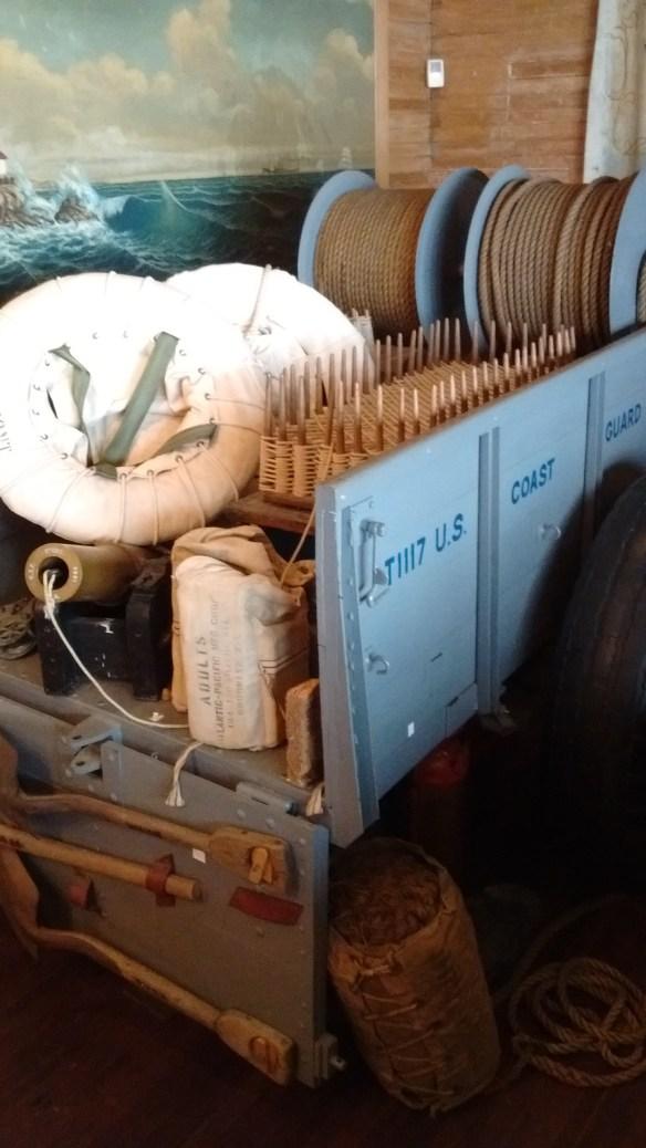 Breaches buoy cart.