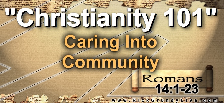 Caring Into Community