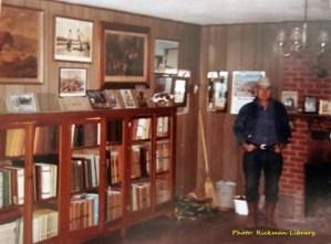 Gilbert Jones, Blackjack Mountain, foundation herd, library, Spanish Mustangs, Colonial Spanish Horse, Rickman Spanish Mustangs