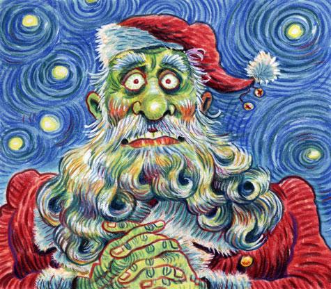 The Santa Claus Files Rick Meyerowitz