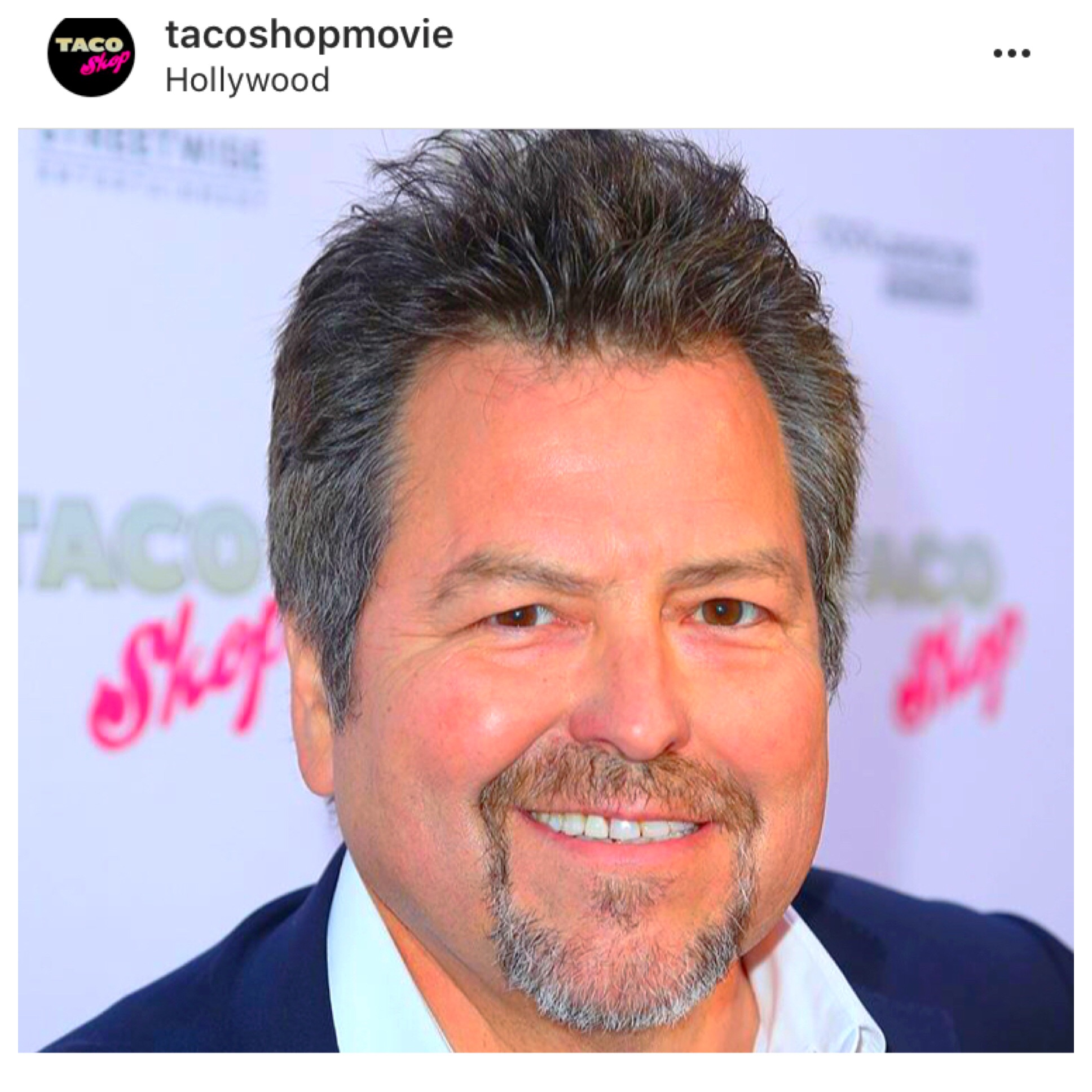 Rick Najera at Taco Shop movie premiere