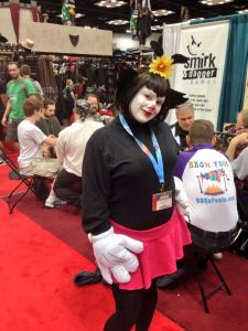 Dot Warner, of the Animaniacs. Awesome.