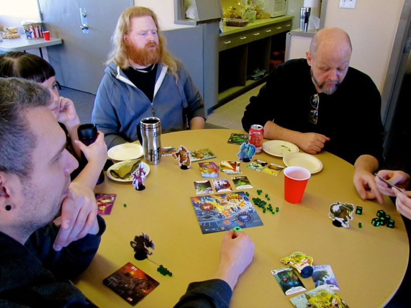 King of Tokyo was the first game I tried at RickFest.