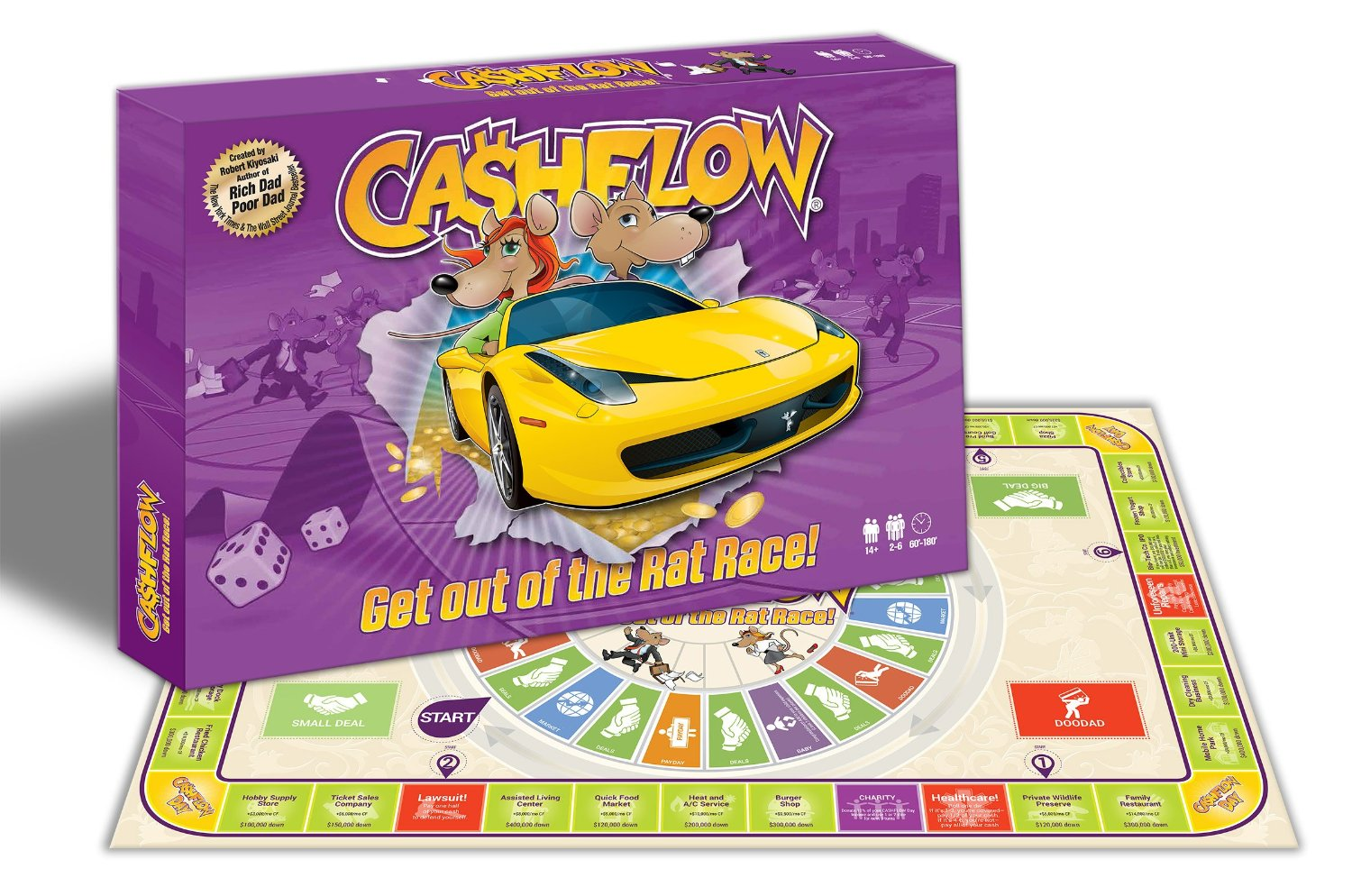 Learn And Win With The Cashflow Board Game