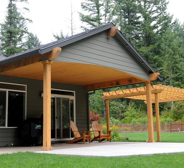 Wood-Framed Patio Covers - Rick's Custom Fencing & Decking on Patio Cover Ideas Wood id=94653