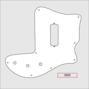 Rickenbacker Pickguard 3000 Bass