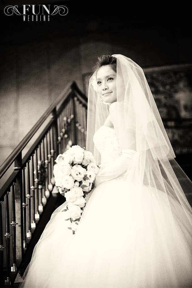 ウェスティンホテル東京 結婚式 階段