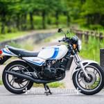 ヤマハRZ350[バイク撮影]