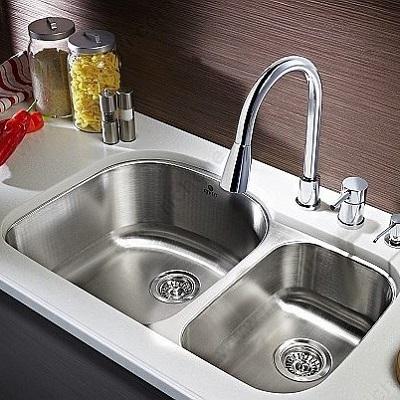 3809u170 Riveo Undermount Kitchen Sink 1 1 2