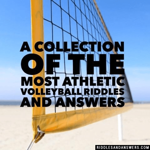 30+ Volleyball Riddles And Answers To Solve 2019 - Puzzles ...