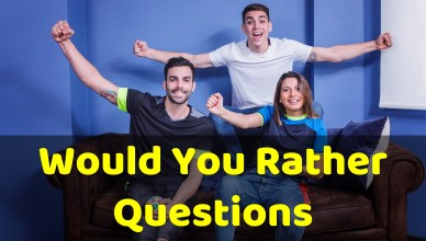 would u rather questions riddlesnow.com