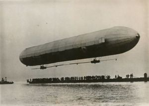 The Zeppelin is invented in Germany in 1900. Work on the mistakes was conducted for 9 years start from 1891, all this time the zeppelin fell inventor Riddles Now