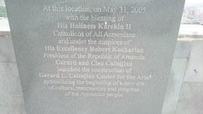 Като се намеси главния католикос...пак нищо не става. Кой помни лафа за арменския поп?