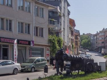 Топчия на улицата