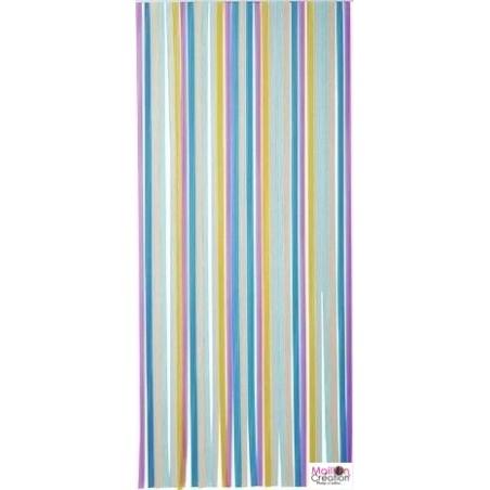 portiere laniere multicolore