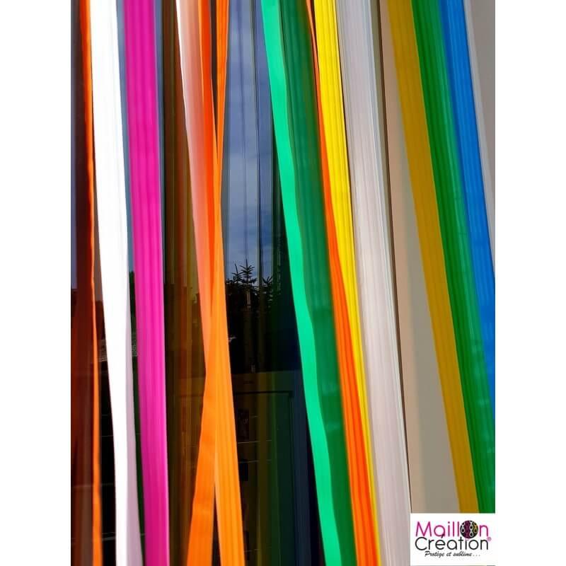 rideau de porte laniere multicolore 90 x 220 cm