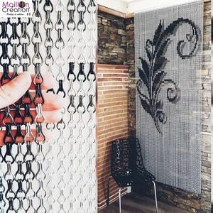 rideau portiere en decoration