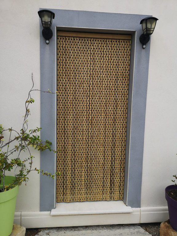 rideau aluminium dimensions 120x215cm