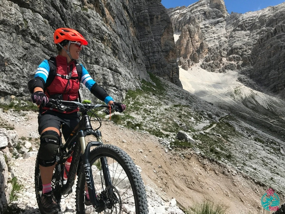 A Cortina in mountain bike. Tofana di Rozes... itinerario mozzafiato