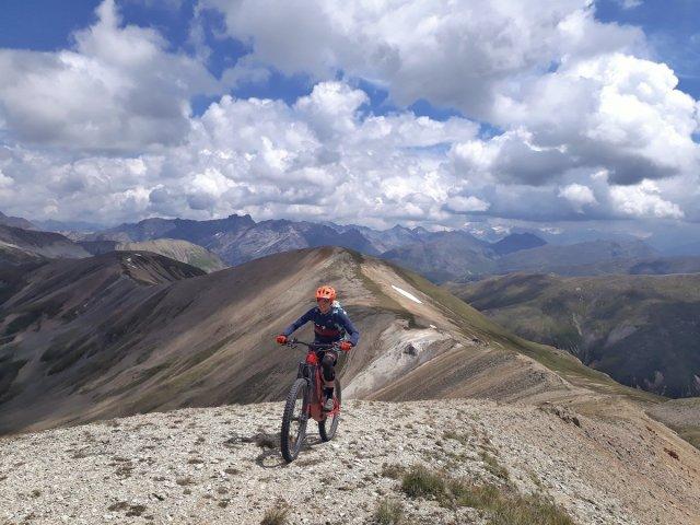 Salita alla cima più alta del The Wild Goat Trail