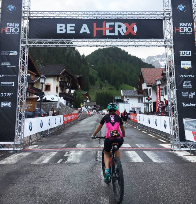 Hero dolomites 2019 finisher